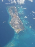 Grand Turk Island (Turks & Caicos) from the air