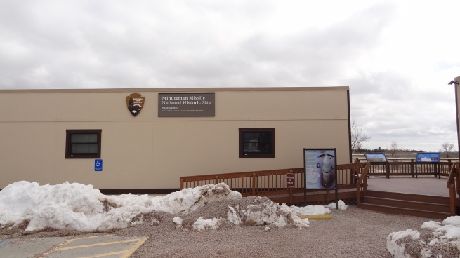 The humble little Minuteman Missile NHS HQ.