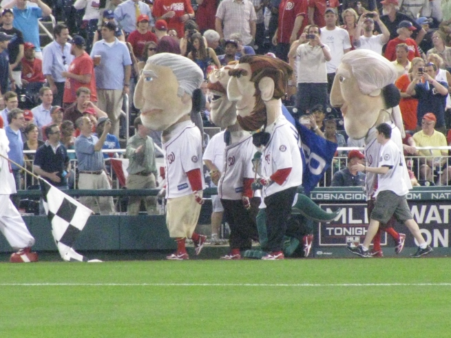 Nats Park Presidents