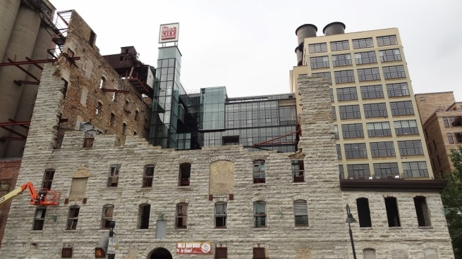 The Mill City Museum, built within the ruins of a flour mill. Interested in the origins of Minneapolis? Well, you should probably start right here.