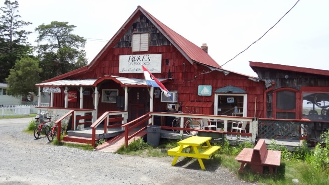 This is Ruke's - it's everything you'd want from a place on Smith island. No frills, no expectations!