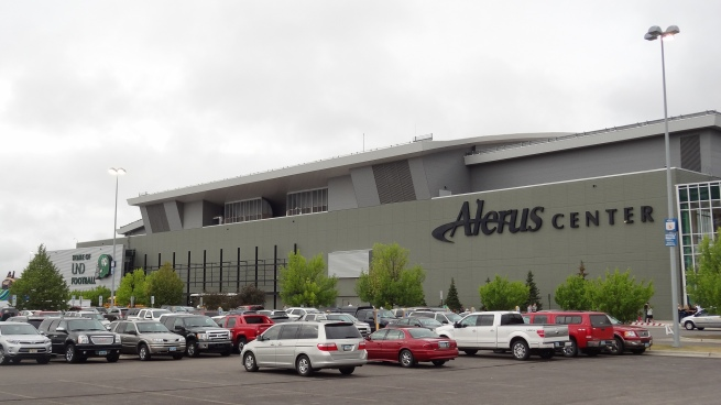 The Alerus Center, home to North Dakota football