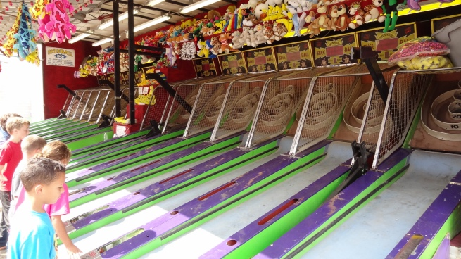 I'd join a professional Skee-Ball tour if there was such a thing. I won myself a plush banana!
