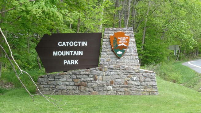 Catoctin Mountain Park in Maryland is closed as well, but does this mean the President can't visit Camp David? I imagine that such a visit would look pretty bad...