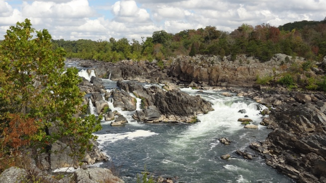 I visited Great Falls Park (VA) on September 29, two days before the shutdown, and took this photo. It's one of the D.C. region's most popular recreational parks but was closed due to the shutdown just like every other NPS site.