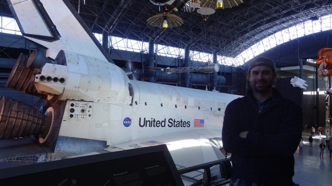The Space Shuttle Discovery at the Stephen F. Udvar-Hazy Center near Washington, D.C.