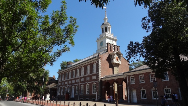 It's a cheap day's drive into Philly from D.C., enough time to check out Independence Hall, the Liberty Bell and grab a cheese steak.