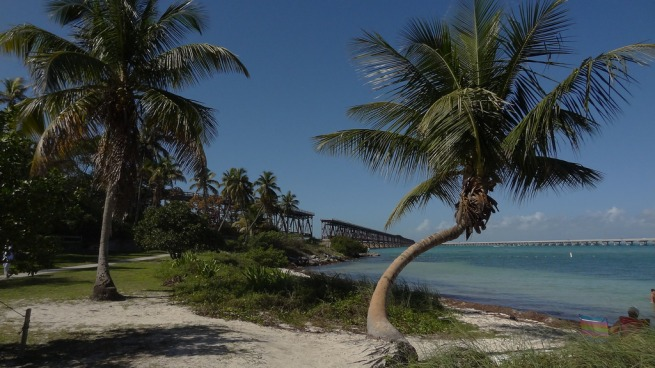 Bahia Honda State Park, beautiful, but the beaches were littered with seaweed