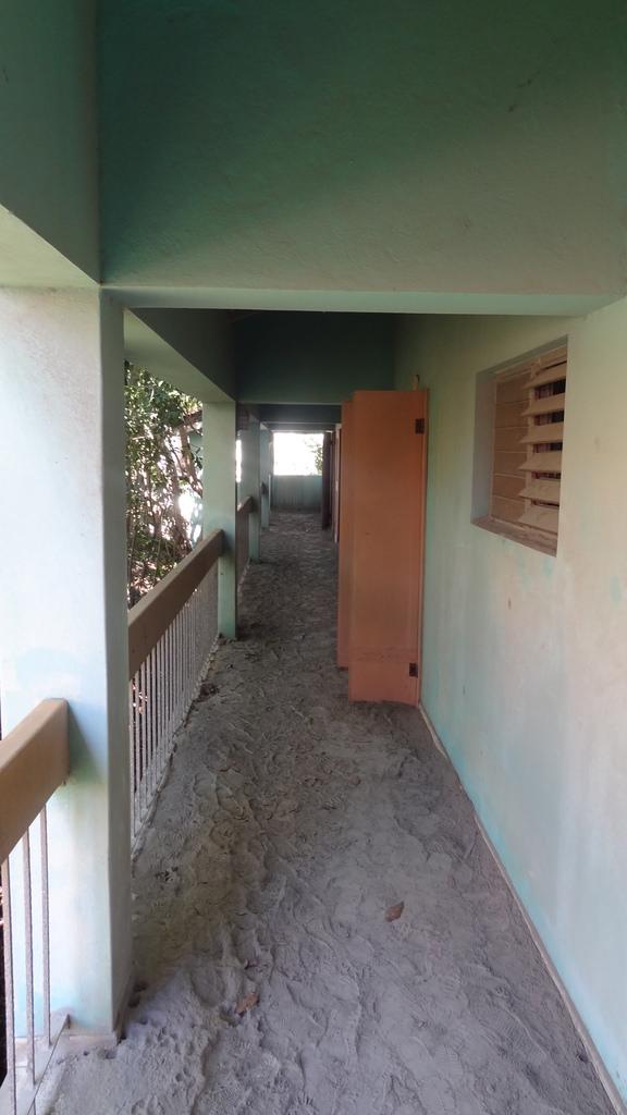 The halls of the Montserrat Springs Hotel