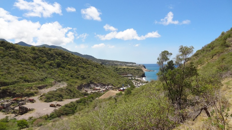 View of Little Bay from the top of the Rendezvous Beach Trail