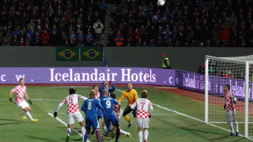 Iceland keeper Hannes Þór Halldórsson came up huge in keeping Croatia off the board in the first game