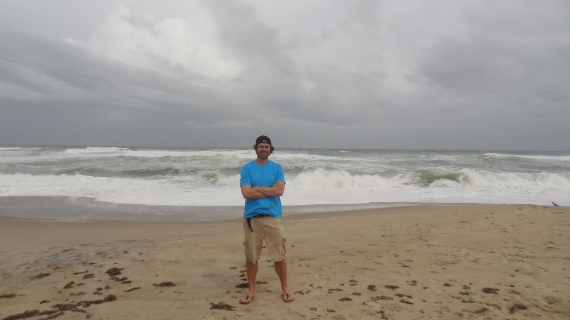 The sea was rough for the entirety of the weekend - I could see why the Wright Brothers enjoyed the windy conditions here!