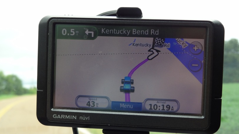 Yes, as far off the beaten path as the Bend is, you'll find it on your GPS