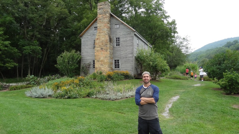 In visiting Pendleton County, WV in 2014, I stumbled onto the Sites Homestead near Seneca Rocks. For this Sites, it was a rather shocking find!