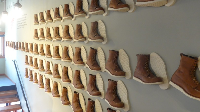 Have your pick, this is ever size of every style of boot that the company makes