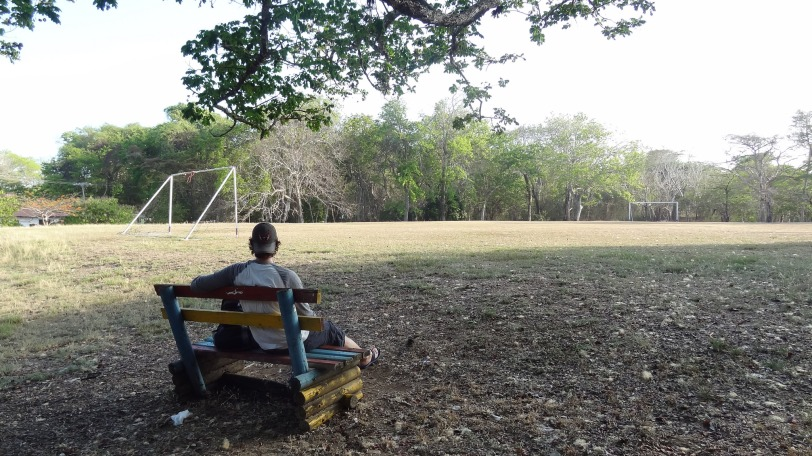 The only soccer field on Contadora (and perhaps all of the Pearl Islands) is adjacent to the only school on the island.