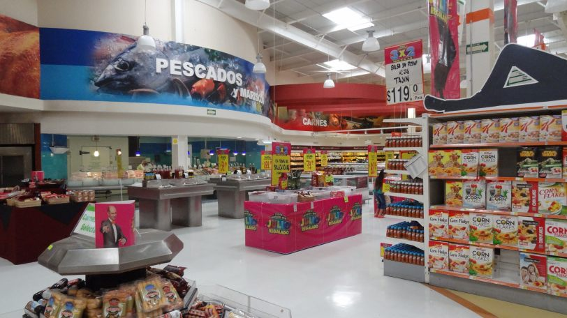 The huge grocery store in Cozumel was fun to walk through