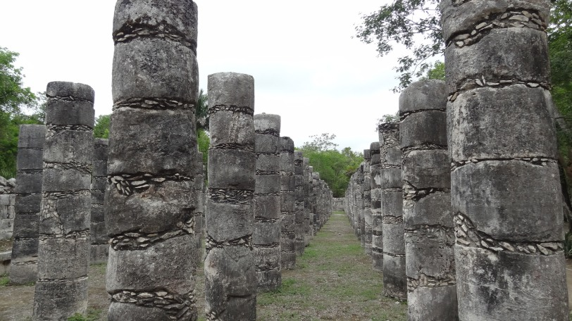 Chichen Itza is so much more than just the pyramid. Their are many different kinds of structures all around the grounds.