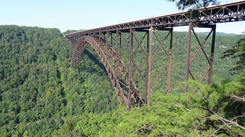Only five hours into my journey, I stumbled upon one of the most impressive bridges in the world, the New River Gorge Bridge in West Virginia