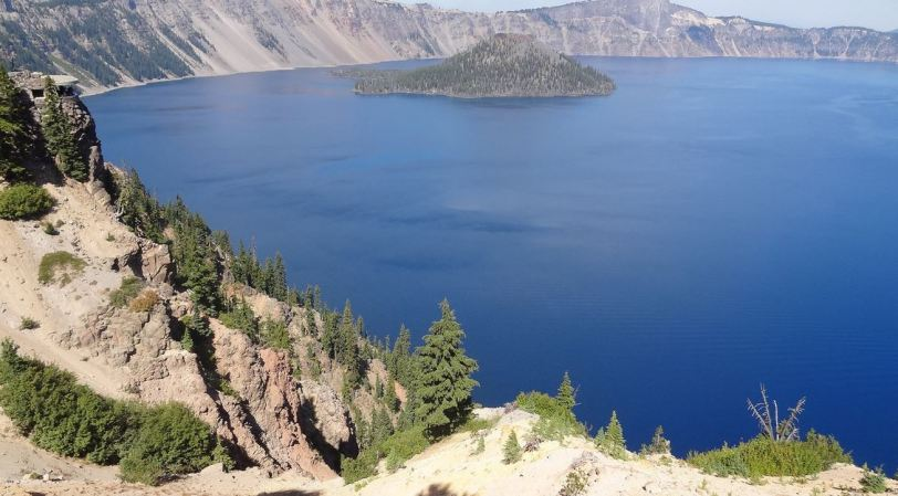 It is definitely worth the extra work to get out to Crater Lake