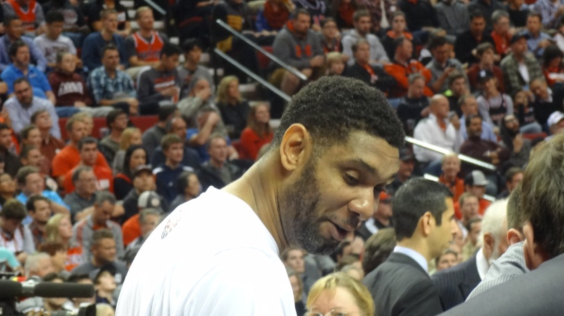 The legendary Tim Duncan may finally be showing some grays - but his play hasn't suffered for it!