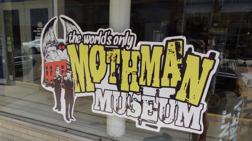 Visiting out-of-the-way counties allows one to take in America's great sites...um, like the Mothman museum...