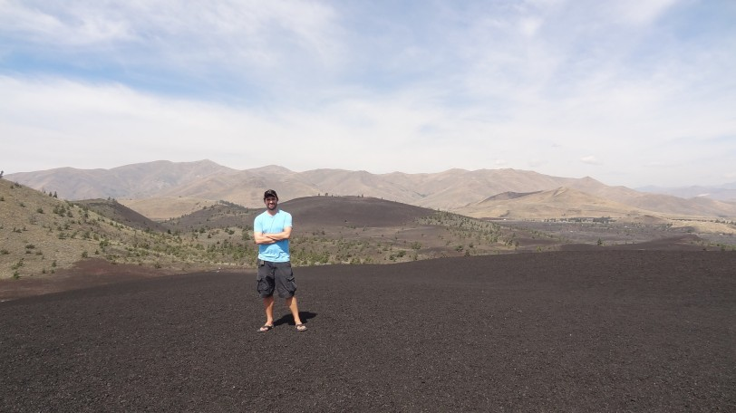 Travel - for me - is relatively unexpected and unplanned. I don't know where I'll visit as I go into 2015. Here I'm standing in Craters of the Moon National Monument in Idaho (late August) - a place that had crossed my mind before but never made my travel plans until just two weeks prior to visiting...