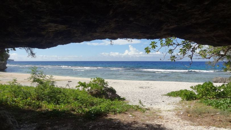 Ladder Beach even has a large cave for some natural shelter