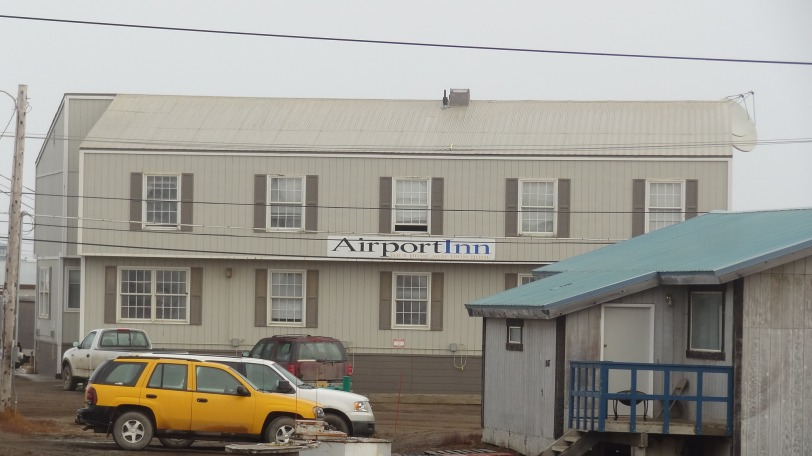 Don't confuse this Airport Inn with other Airport Inn's, this is the real deal yo. This is the only place to stay in Barrow if you still love your wallet.