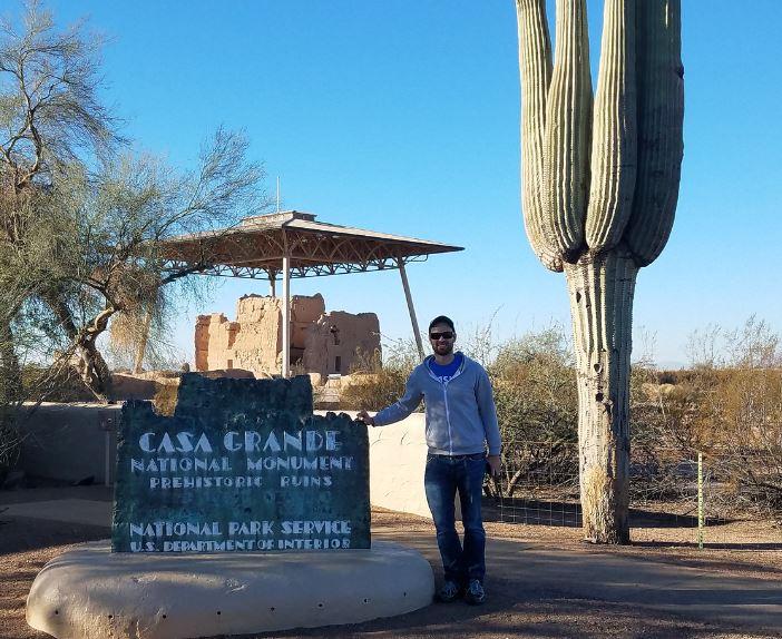 Casa Grande was my most recent NPS unit visit (December 2016)